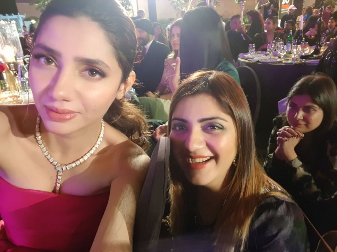 Mahira Khan and Mahwash Ajaz